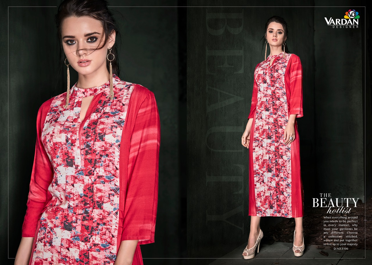 Vardan designer indian wear kurti and gown