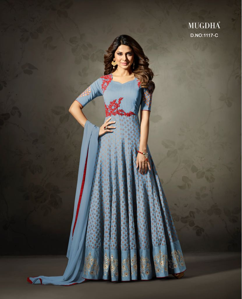 Mugdha designer indian dresses and gowns for women