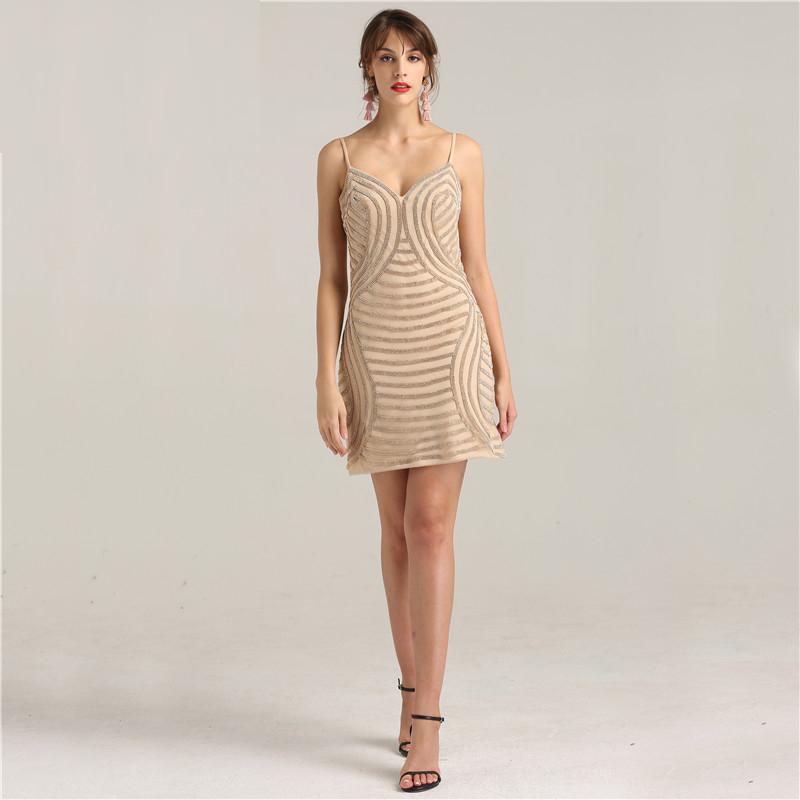 cf273d261c18a Fleepmart fashion 2019 Newest Fashion Sexy Short Dress Full Crystal Diamond  Party cocktail Dresses LA6243